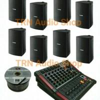 Paket Soundsystem Ruangan Yamaha Vs6 4set & Power Mixer STX MMP6 Usb