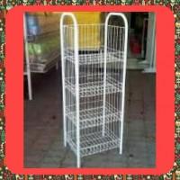Rak Hanger besi (model display pajangan jualan toko jajan chiki) MURAH