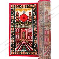 Sajadah Karpet Roll Murah Masjid Mushola Motif Merah Mesjid Tebal