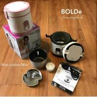 Mini Rice Super Cooker BOLDE Penanak Nasi Kecil Traveling Bubur Bayi