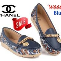 PROMO, SEPATU CEWEK IMPORT ,Flat Shoes Chanel WA 6668