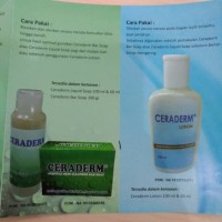Ceraderm Lotion 100ml (pelembab kulit kering, sensitif, dermatitis)