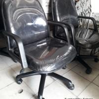 Kursi Staff POLOS Kaki Roda Kursi Kerja Kantor manager Rapat MURAH