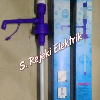 Pompa Air Minum Galon Elektrik Baterai, Dispenser Air