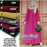 Gamis Muslim Jumbo Busui Polos Jersey Maxi Dress Big Size XXXXL Murah