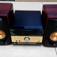 Speaker AAA Tanaka Tiger Dvd Mini Compo With Power Amplifier