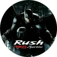 cover ban mobil Rush Batman