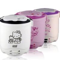 mini rice cooker hello kitty hk slow warmer hk 2 susun kity nasi bub