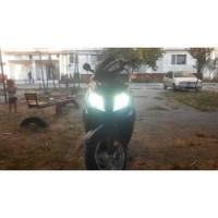 Lampu Led H4 Mobil/Motor COB led 4000 Lumen Fokus Hi-Lo Beam 2pcs
