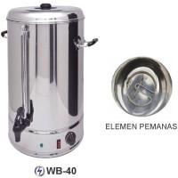 GETRA WB-40 Cylinder Water Boiler / Mesin Pemanas Air Listrik