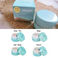 Wardah everyday luminous creamy foundation extra cover