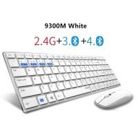 Murah Baru Rapoo Multi-Mode Silent Nirkabel Keyboard Mouse Combo