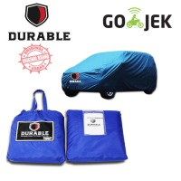 DURABLE PREMIUM CAR BODY COVER/TUTUP MOBIL BLUE For MERCY W211 E270