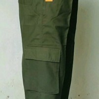 SW-hijau-Sirwal tempur/celana ngatung tidak ishbal/celana panjang