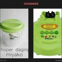 Sale! Choper Daging Baru Dan Mesin Blender Miyako Second Murah