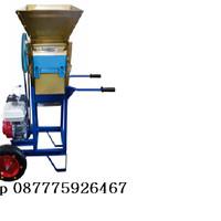 Mesin Pengupas Kulit Kopi Basah - Pulper Kopi - Portable dengan Roda