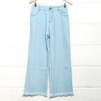 Celana Panjang Wanita Button Cullote Kekinian | Celana Kulot Murah