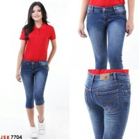 New! Celana Pendek Jeans Jumbo Wanita Short Denim Jsk Jeans Import Hot