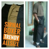 HARGA KHUSUS Sirwal Boxer Trendy AllSIZE