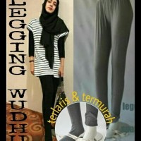 (Big Sale!!) Legging Wudhu Jumbo - Big Size Ready Hitam !