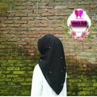 Hijab segiempat/Jilbab/kerudung Rawis Mutiara VALENCIA