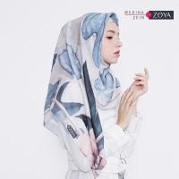 Medina Zein for Zoya Kerudung Segi Empat Cantik Latesha Scarf TERMUR