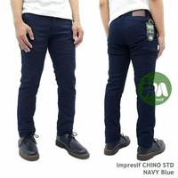 Celana Chino Navy Black Dark Brown Dark Grey