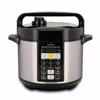 PHILIPS Electric Pressure Rice Cooker 5 Liter - HD2136