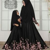 Gamis MUSLIM mk maxmara lux - gamis couple ibu dan anak / long dress