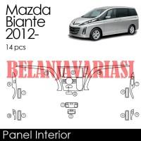 Panel Interior Mazda Biante 2012- Wood
