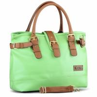 Tas Sling / Selempang Handbag Wanita  hijau Golfer GF.1920 murah ori