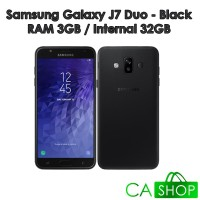 Samsung Galaxy J7 Duo - J720 - 3GB/32GB - Black - NEW - GRS Resmi SEIN