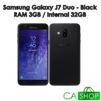 Samsung Galaxy J7 Duo - J720 - 3GB/32GB - Black - NEW - GRS Resmi SEIN