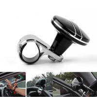 Areyourshop Platinum Car Steering Wheel Spinner Knob Power Handle Akse