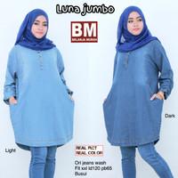 blouse atasan baju muslim murah cewek muslimah polos tunik