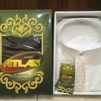 BAJU TERBARU Baju Koko Atlas Bamus Universal Warna Putih Ukuran L