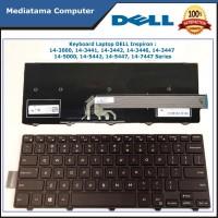 Keyboard Laptop DELL Inspiron 14-3000 Series, 14-5000 Series