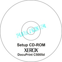 CD Driver Printer Xerox DocuPrint C5005d