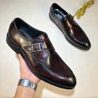 Sepatu formal pria cowok hermes pantofel kulit import kw mirorr
