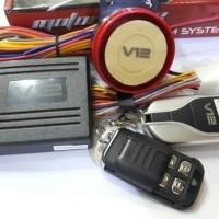 Alarm Motor Remote starter V12 Fitur Lengkap by Vinyx