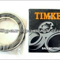 6303 2RS / 6303-2RS TIMKEN BALL BEARING / LAHER BOLA 17X47X14