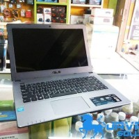 Laptop Asus a450c Dualcore silver Ram2gb HDD500Gb Bekas