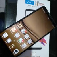 2 handphone vivo V7 serial 1718. 4/32GB.bungkus murah cuma 5.2 juta