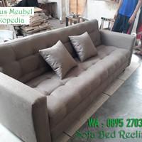 Sofa Bed Reclining KREDIT ,TERMURAH, BERGARANSI
