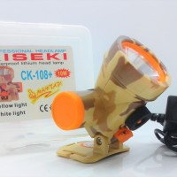 HEAD LAMP / SENTER KEPALA KISEKI CK108 + CHARGER