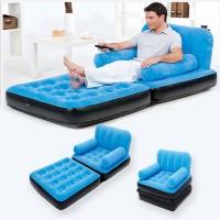 Air Sofa Double Kursi Angin Duduk Inflatable Bed Sofa Dobel Minimalis