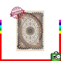 Terbaik Promo Karpet Antalya Turki Karpet Permadani 80 x 150 cm Cream