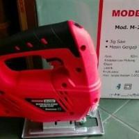 Mesin Jigsaw Modern M-2200 Gergaji Tangan Listrik Jig Saw Ger Termurah
