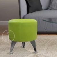 Kursi Sofa Bulat Puff Super Chic Minimalis Size 43 cm x 40 cm