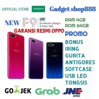 OPPO F9 RAM 4GB ROM 64GB GARANSI RESMI OPPO INDONESIA 1 TAHUN
